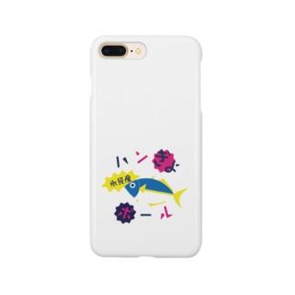 ハンぎょボール Smartphone cases