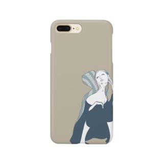メランコリック・ウーマン Smartphone cases