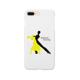 社交ダンス×シルエット Smartphone cases