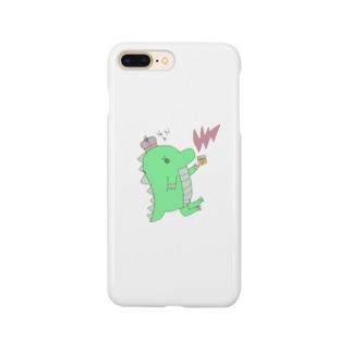 恐竜のきぃくん Smartphone cases