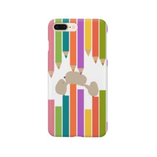 ペンギンのお子、阻まれる Smartphone cases