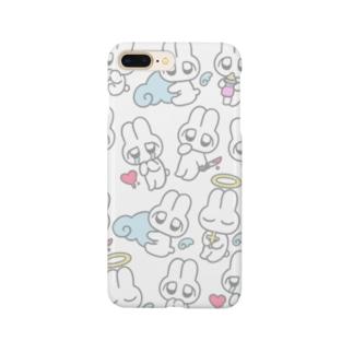 めんへらうさちゃん Smartphone cases