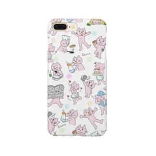 ピンク猫 Smartphone Case