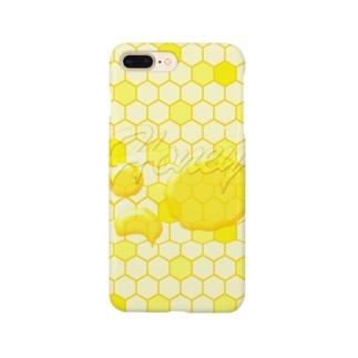 Honey!ミツバチハニー Smartphone cases
