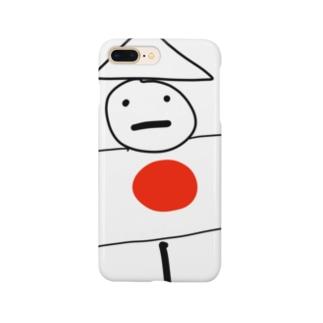 かかし丸くん Smartphone cases