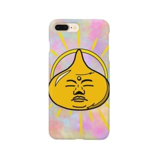 スラ仏(薄め) Smartphone cases