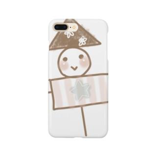 かかし丸ちゃん Smartphone cases