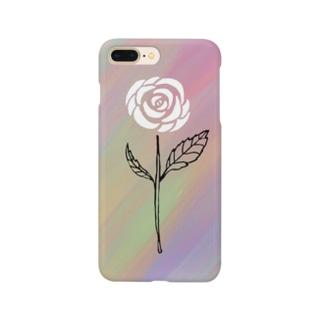 Rock Style Hero Originの世紀末に咲く一輪の薔薇 Smartphone cases
