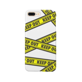 KEEP OUT  Smartphone cases