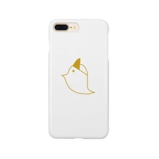 ❣️ぽこまる❣️のとりおばけスマホケース Smartphone cases