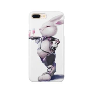 WAITER BUNNY WHITE Smartphone cases