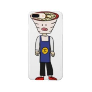 沖縄そば太郎グッズ Smartphone cases