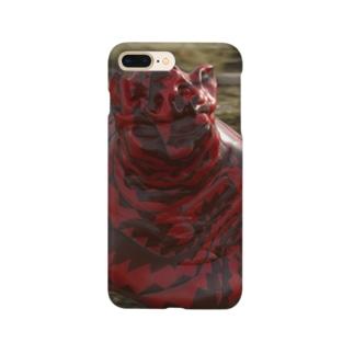 PINKMANのふんころがしちゃん Smartphone cases