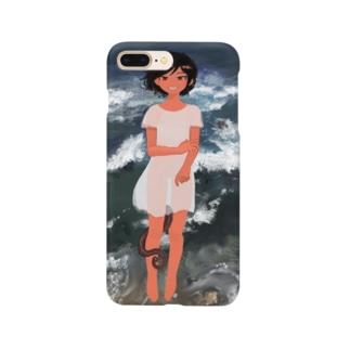 波の子 Smartphone cases