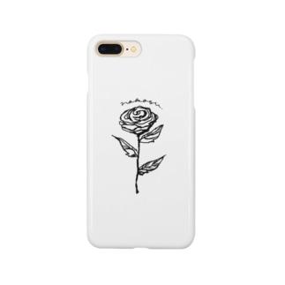 【nokosu original】simple Flower Smartphone Case