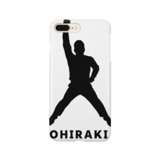 OHIRAKI silhouette グッズ Smartphone cases
