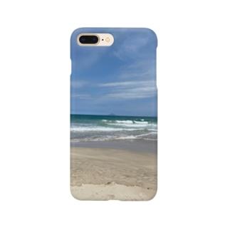 響葵(ひびき)の海好きさん Smartphone cases