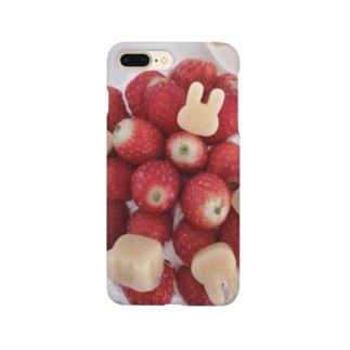 響葵(ひびき)のイチゴとどうぶつ Smartphone cases