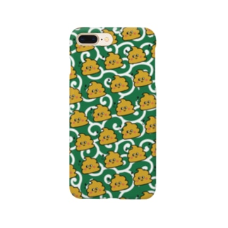 うんちゃんスマケー 和柄 Smartphone cases