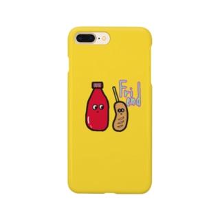 フレンド スマケー イエロー Smartphone cases