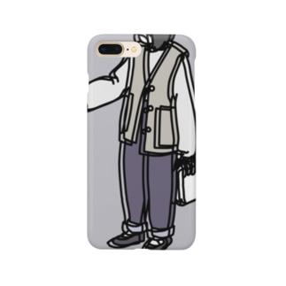 だぼだぼガール Smartphone cases