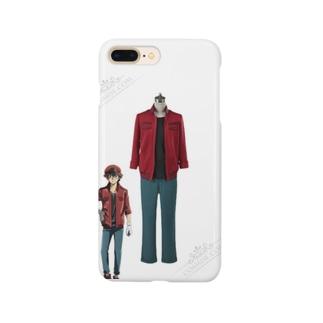 はたらく細胞BLACK 赤血球 AA2153 せっけっきゅう コスプレ衣装 帽子付き 変装 仮装 Smartphone cases