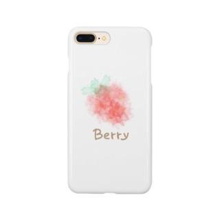 ぼんやりストロベリーシリーズ Smartphone cases