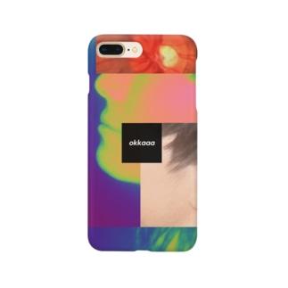 okkaaaの《okkaaa》スマホケース「網膜」 Smartphone cases