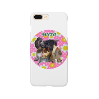 mntoつくね仲間入りver Smartphone cases