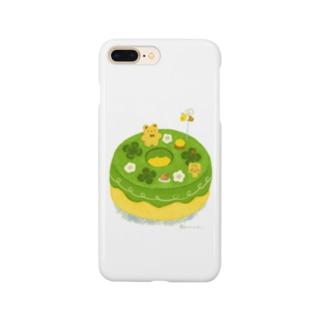 抹茶の原っぱシフォンケーキ Smartphone cases