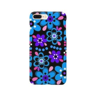 ブルーガーデン Smartphone cases