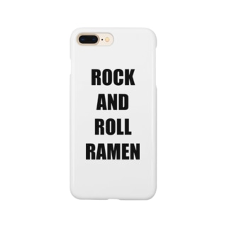 ROCK AND ROLL RAMEN Smartphone cases