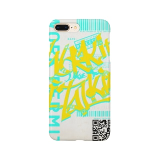 Work it like a I talk it きいろ Smartphone cases