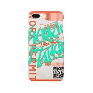 Work it like a I talk itのおれんじ Smartphone cases