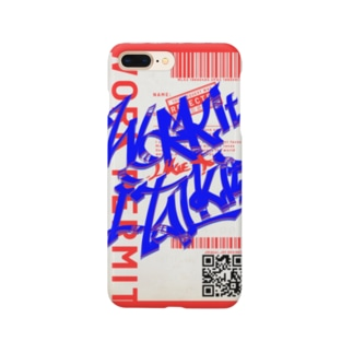 Work it like a I talk itのあおとあか Smartphone cases