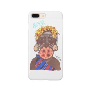 ムルシ族 Smartphone cases