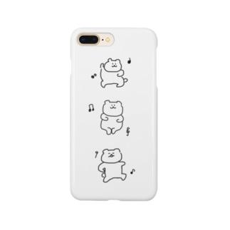 ダンシングくまちゃん Smartphone cases