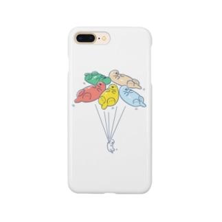 ラッッッコ「バルーン」 Smartphone cases