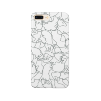 シルエットニャンコ Smartphone Case