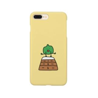 跳び箱をとぶピーマン Smartphone cases