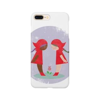 赤い頭巾 Smartphone cases