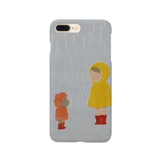 雨宿り Smartphone cases