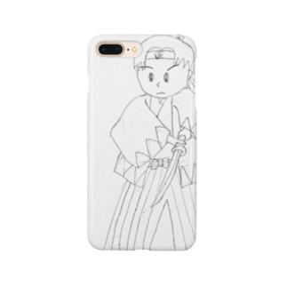 激闘新撰組:ラフスケッチ Smartphone cases