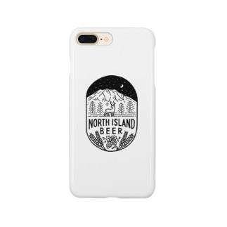 ノースアイランドビール スマホケース(山と鹿) Smartphone Case