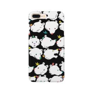 クマだらけ Smartphone cases
