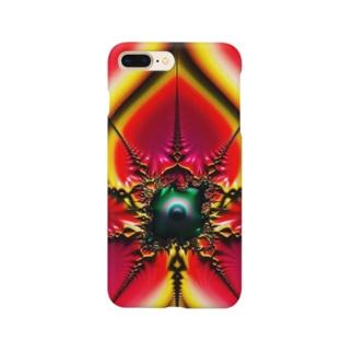 空よりも赤い Smartphone cases