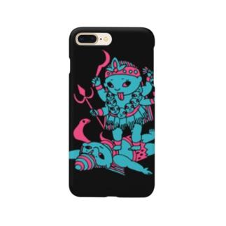 開運!?インドの神様「カーリー」スマホケース Smartphone cases
