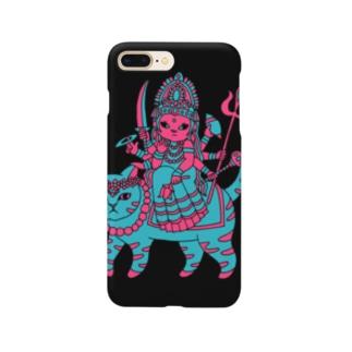 開運!?インドの神様「ドゥルガー」スマホケース Smartphone cases