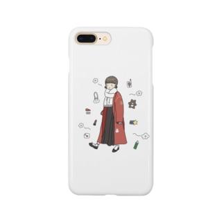 れとろがーる Smartphone cases