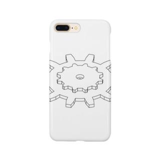 歯車組み合わせ Smartphone cases
